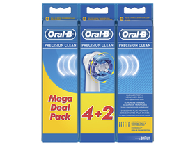 Oral-B EB 20-6 pótfej Precision Clean 6 db