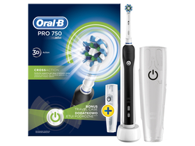 Perie de dinti electrica Oral-B PRO 750 Cross Action + toc