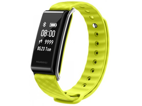 Ceas smart Huawei Color Band A2, Yellow/Green