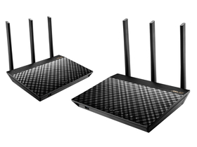 Asus AiMesh RT-AC67U AC1900 Wifi router duo pack