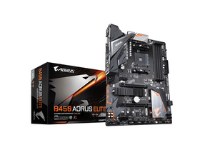 Gigabyte AMD B450 AORUS ELITE AM4 alaplap