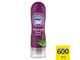 Durex Massage 2in1 gel za masažu i lubrikant sa aloe verom, 200 ml