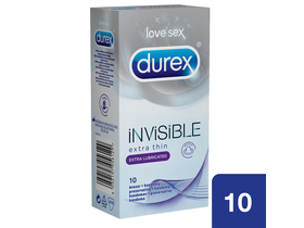 Durex Invisible Lubricated óvszer c6559d0f9e