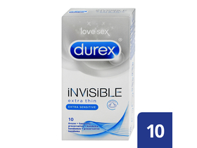 Durex Invisible Extra Sensitive kondómy, 10 ks