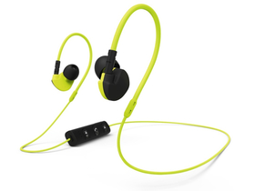 Hama Clip-On bluetooth sport headset, žuti