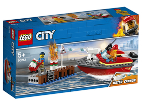 LEGO City - Incendiul de la doc-(60213)