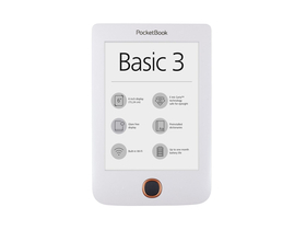 eBook четец PocketBook Basic 3 614 бял