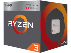 AMD Ryzen 3 2200G 3.5GHz AM4 box processzor (YD2200C5FBBOX)