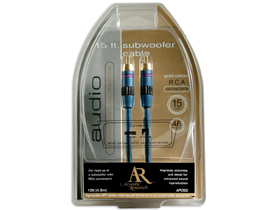 Cablu  subwoofer Acoustic Research AP-051N Performance stereo RCA , 1,8m