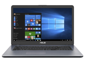 Asus Vivobook X705MB-GC001T notebook, ezüst + Windows 10 Home
