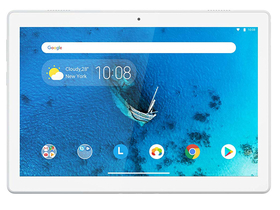 "Lenovo Tab M10 HD (TB-X505F) ZA4G0107BG 10.1"" HD IPS 32GB WLAN Tablet, weiß (Android 9.0)"