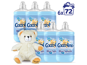 Coccolino Blue Splash Rinse омекотител, 6x1800ml
