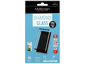 Myscreen DIAMOND GLASS edge 3D kaljeno staklo za Samsung Galaxy S9 (SM-G960) (full cover), crno