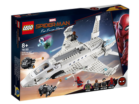 LEGO® Super Heroes 76130 - Stark jet si atacul dronelor
