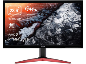 "Acer KG241QSbiip 23,6"" FullHD TN 165hz 1ms Freesync gamer LED monitor"