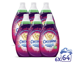 Coccolino szuperkoncentrált öblitő Passion, 6X960ml