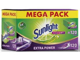 Sunlight All in 1 Extra Power MEGA PACK Tablete za sudove, 120 kom.
