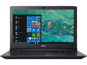 "Notebook Acer Aspire A315-51-351J NX.H9EEU.005 15,6"", negru + Win10 (tastatura layout HU)"