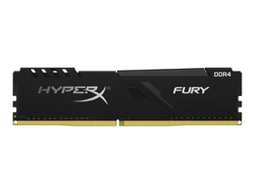 Kingston HX424C15FB3/8 HyperX Fury 8GB 2400MHz DDR4 Non-ECC CL15 XMP 2.0 memorija modul, crna