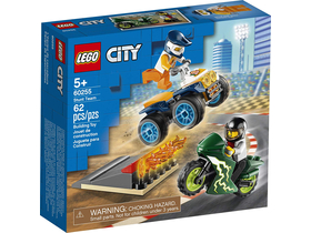 LEGO® City Turbo Wheels - Stunt-Team (60255)