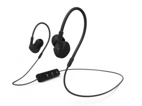 Hama Clip-On bluetooth sport headset, crni