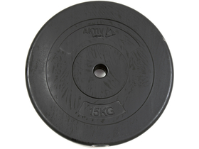 Disc greutate din ciment Aktivsport 15 kg, 35 mm