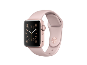 Apple Watch Series 1, 38mm, aluminijski ovitek s športnim trakom, rose gold (mnnh2mp/a)