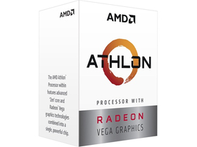 AMD Athlon 3000G sAM4 BOX processzor (YD3000C6FHBOX)