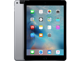 Apple iPad Air 2 Wi-Fi + Cellular 128GB, сив (mgwl2hc/a)