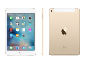 Apple iPad mini 4 Wi-Fi + Cellular 128GB, gold  (mk782hc/a)