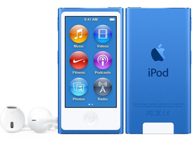 Apple iPod nano, kék (mkn02hc/a)