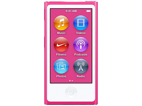 Apple iPod nano, rožnat (mkmv2hc/a)