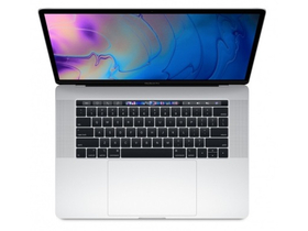 "Apple MacBook Pro 15"" Touch Bar,SC i7 2.2GHz,16GB,256GB SSD,Radeon Pro 555X w 4GB, magyar (HUN) bill., ezüst (mr962mg/a)"