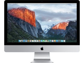 "Apple Retina 5K monitor iMac 27"" (mk472mg/a) Quad-core i5 3,2GHz / 8GB / 1TB Fusion Drive, HU klávesnica"