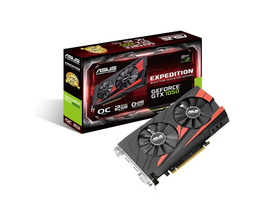 Placa video Asus nVidia GTX 1050 2GB GDDR5 - EX-GTX1050-O2G