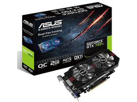 Placă video Asus GTX750TI-OC-2GD5 2GB