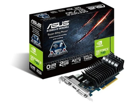 Placă video Asus Nvidia GT 730 2GB GDDR5  (GT730-SL-2GD5-BRK)