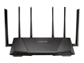 Router Asus RT-AC3200 3200Mbps Tri-Band,  AC wifi router cu 2buc. porturi USB