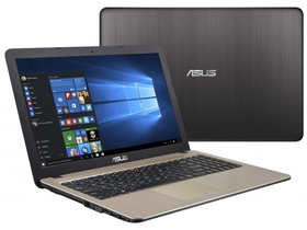 Asus X540SA-XX006D notebook, fekete + McAfee Internet Security