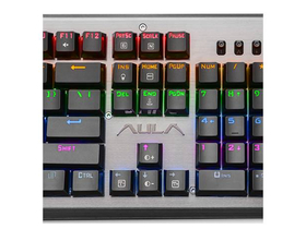 Tastatura mechanica RGB din metal gaming  AULA ASSAULT (tastatura layout HU)