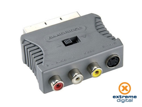 Adaptor Bandridge VAP7655 (Scart - S-Video + 3xRCA)