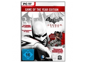 Batman Arkham City Game Of The Year PC játékszoftver