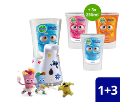 Set rezerva Dettol Kids, no touch, ( 3 x 250ml)