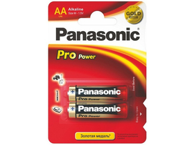 Panasonic Pro Power алкална AA /моливна/ батерия 2 бр