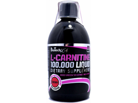 BioTech USA L-Carnitine 100.000 Liquid, 500 ml, čerešňa