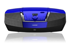 Blaupunkt BB12BL prenosný CD-s rádio MP3/USB ,modrý