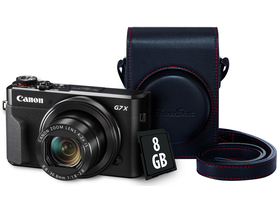 Canon PowerShot G7X Mark II Digitalkamera Premium Kit
