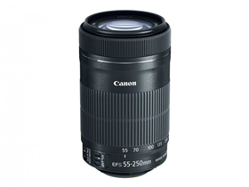 Canon 55-250mm / F4-5.6 EF-S IS STM objektiv