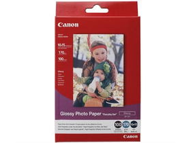 Canon Glossy Photo Paper, 10x15, 170g/m2 100 fotopapier