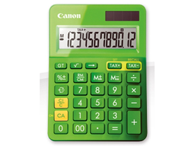 Calculator de masă Canon LS-123K, verde